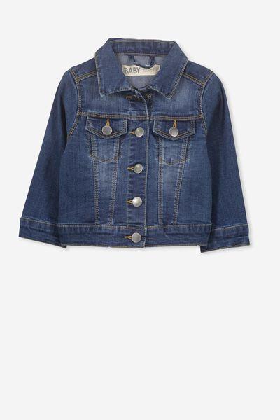 f7f8689da923d Jules Denim Jacket, DENIM WASH. Cotton On Kids