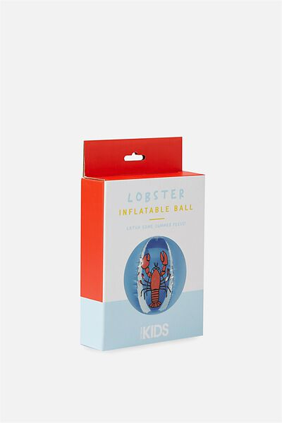 Kids Inflatable Fun Ball, BLUE LOBSTER