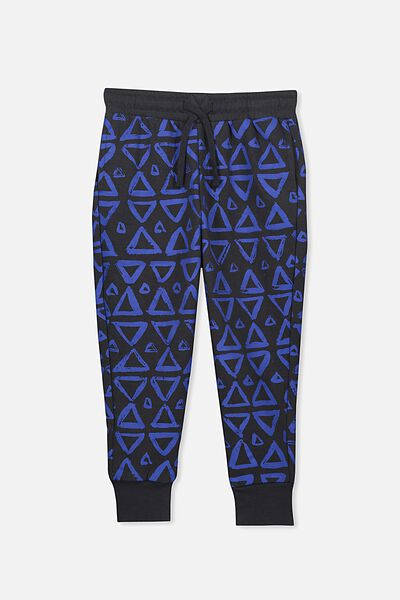 Lewis Trackpant, GRAPHITE/TRIANGLES