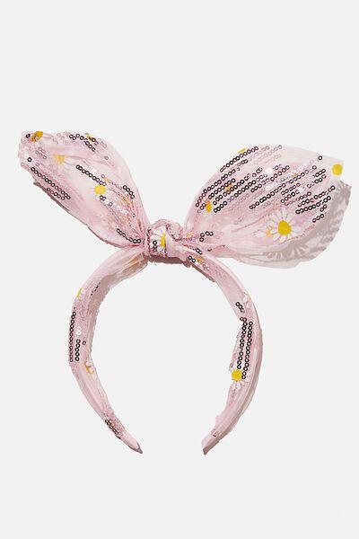 Headband - Bunny Ears, SUNFLOWER