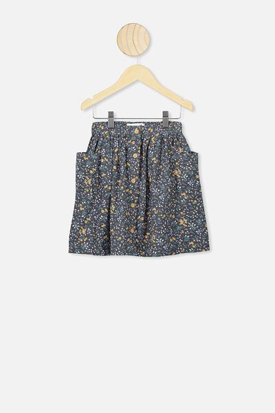 Joanie Skirt, PHANTOM FLORAL FIELDS