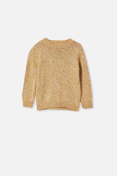 Blake Knit, HONE GOLD/DARK VANILLA