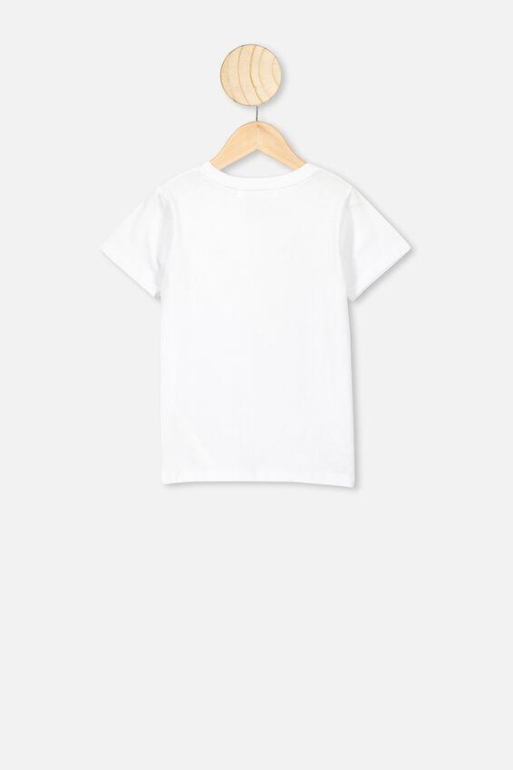 Lux Short Sleeve Tee, LCN DIS WHITE/CINDERELLA