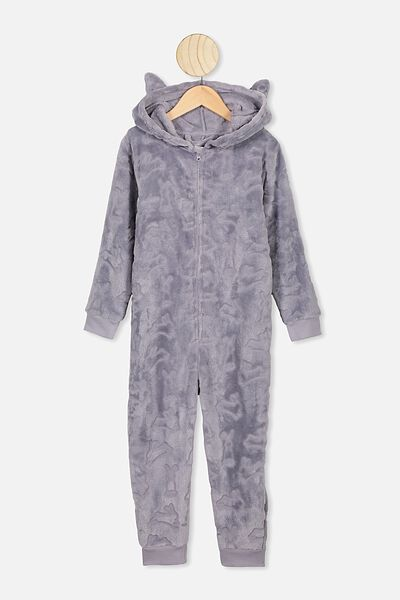 Boys Novelty All In One, GREY MARLE BUNNY