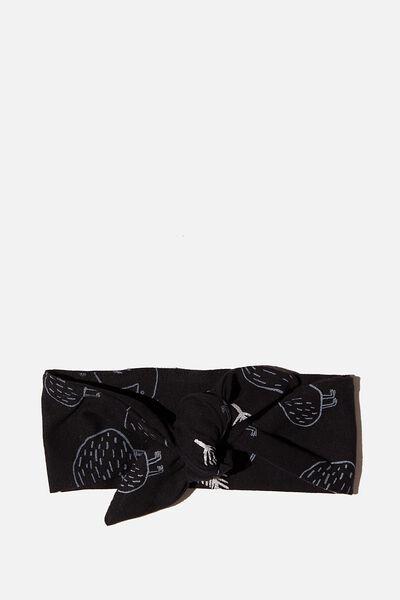 The Tie Headband, BLACK KIWI