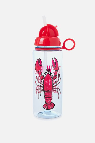 Spring Drink Bottle, LOBSTER WORLD