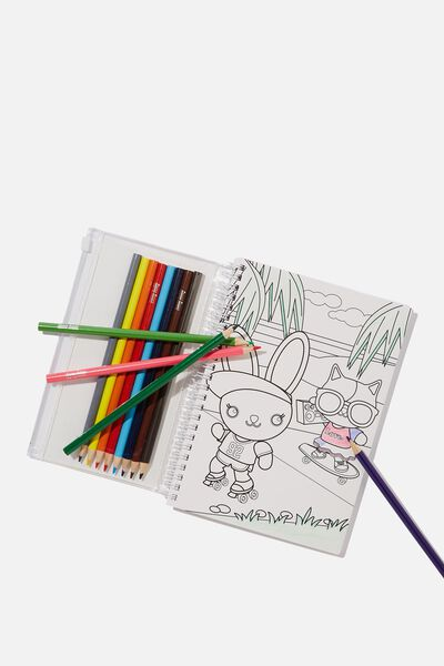 Colour Me Notebook Pack, LETS ROLL