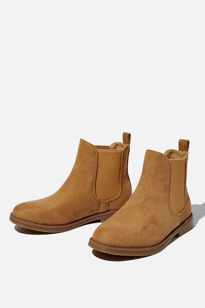 Chelsea Gusset Boot, SAND DUNE