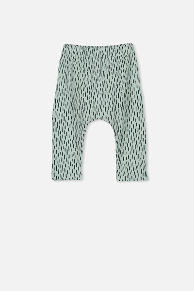 The Legging, MINTY BLUE/HAIRY PRINT