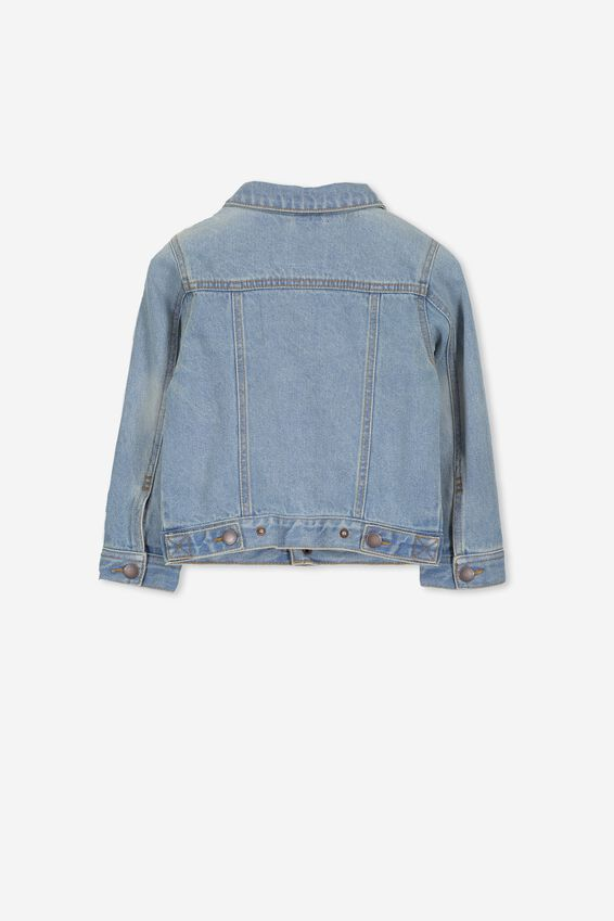 Quinn Denim Jacket, VINTAGE BLUE WASH