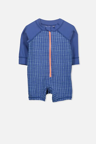 Harris One Piece, BATEAU BLUE/DINO GRID