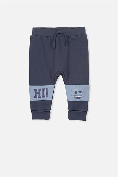 License Shelby Track Pants, FADED NAVY/HI!