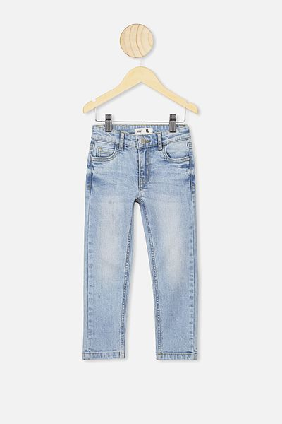 Ollie Slim Leg Jean, UTAH LT BLUE WASH A