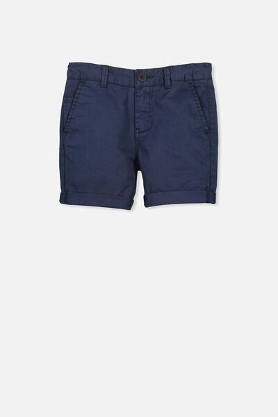 William Walk Short, WASHED DARK BLUE