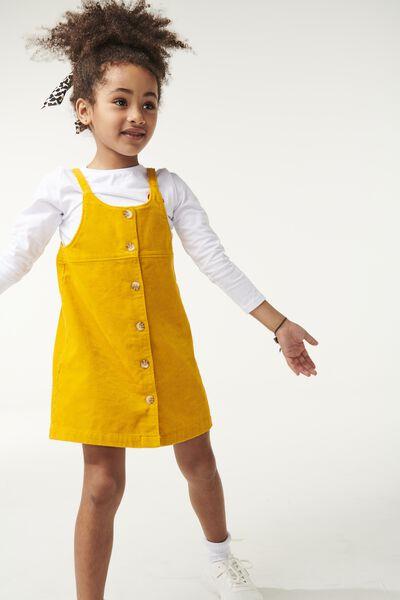 Willa Dress, GOLD GLOW