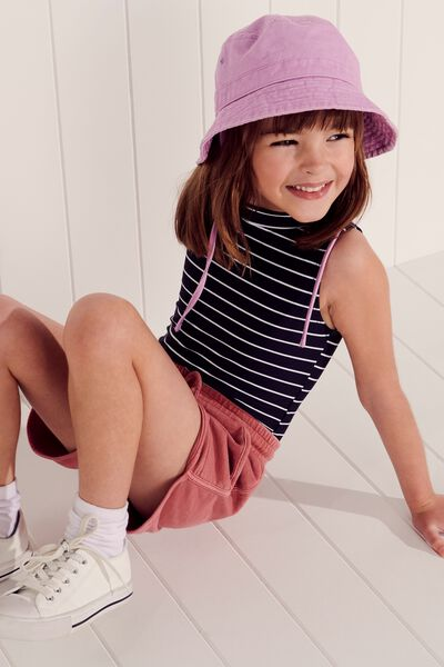 Kids Bucket Hat, PINK LAVENDER