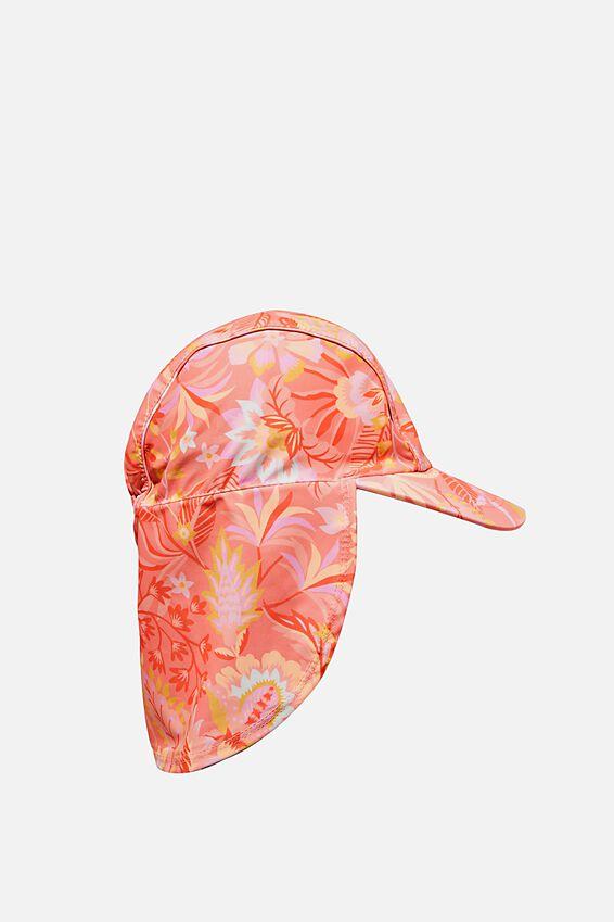 Swim Hat, FOLK FLORAL