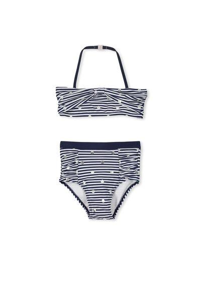 Kaylee Bikini, PEACOAT STRIPE/FOIL SPOT