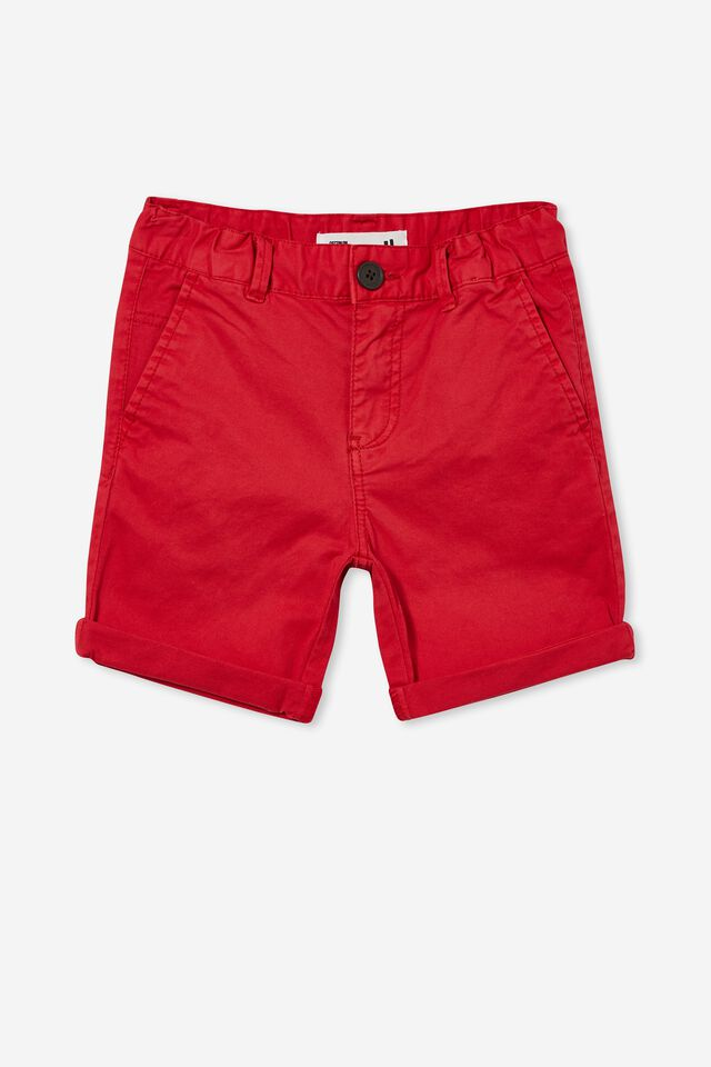 Walker Chino Short, LUCKY RED