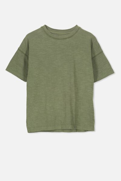 Penelope Ss Loose Fit Tee, CLOVER