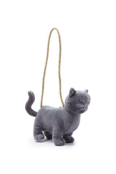 Plush Animal Bag, CAT