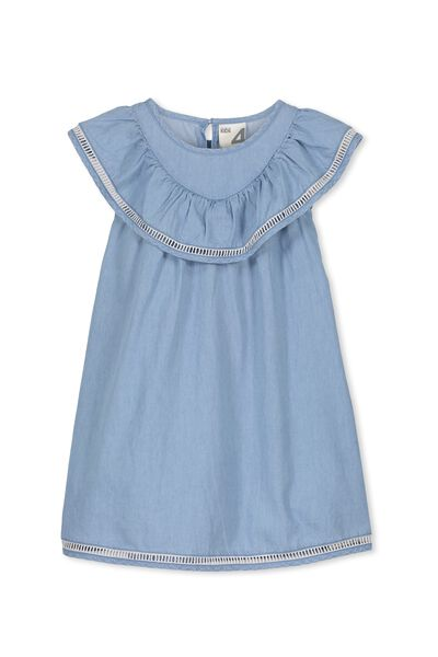 Olivia Dress, LIGHT BLUE