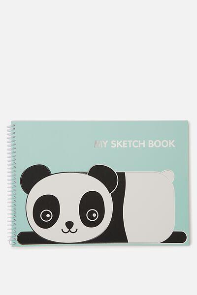 Sunny Buddy A4 Sketchbook, OLI CORE