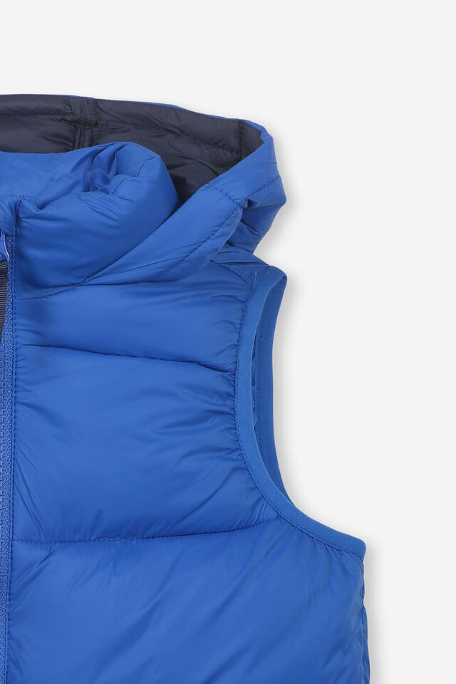 Billie Puffer Vest, SURF THE WEB