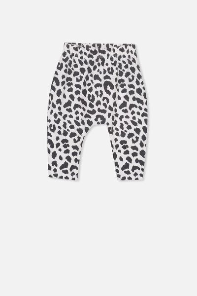 The Legging, WHITE/OCELOT PRINT