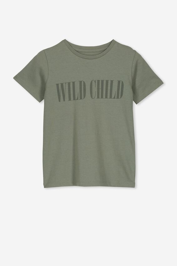 Penelope Short Sleeve Tee, SILVER SAGE/WILD CHILD/MAX