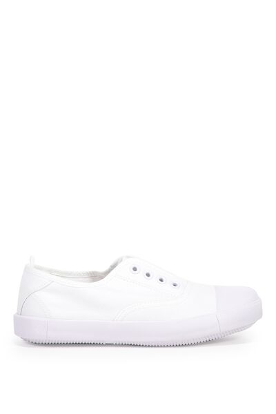 Free Sara Slip On, WHITE