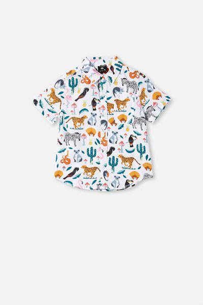 Kip & Co Resort Short Sleeve Shirt, LCN KIP IN THE JUNGLE