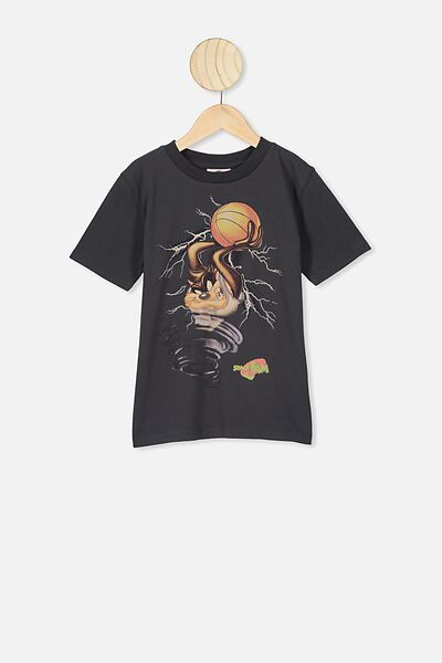 Co-Lab Short Sleeve Tee, LCN WB TASSIE DEVIL SPACE JAM PHANTOM