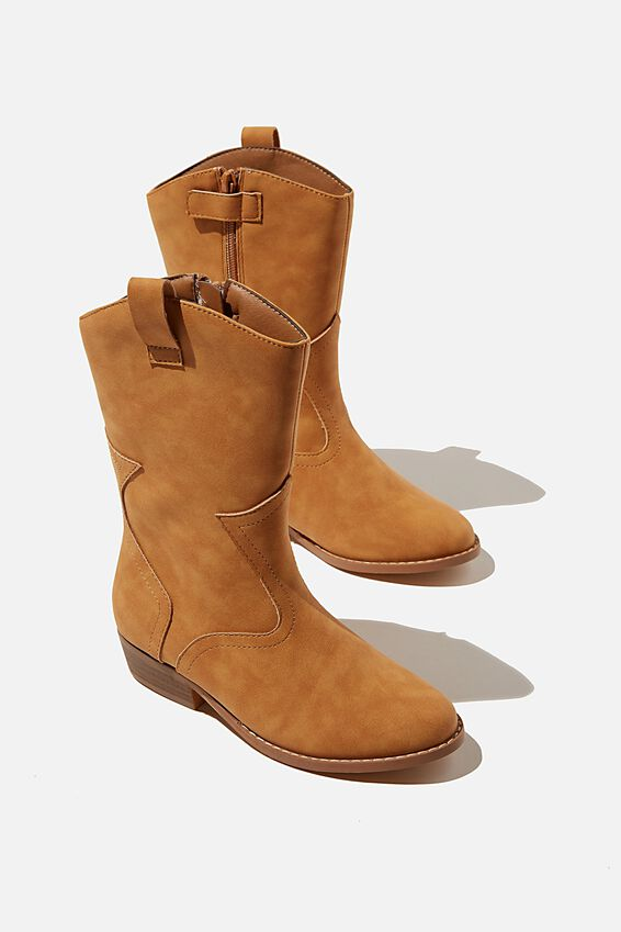 Mid Western Boot, TAN