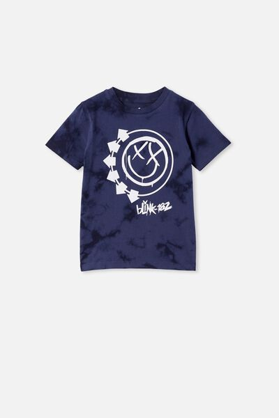 Co-Lab Short Sleeve Tee, LCN SAN PHANTOM SNOW WASH / BLINK 182