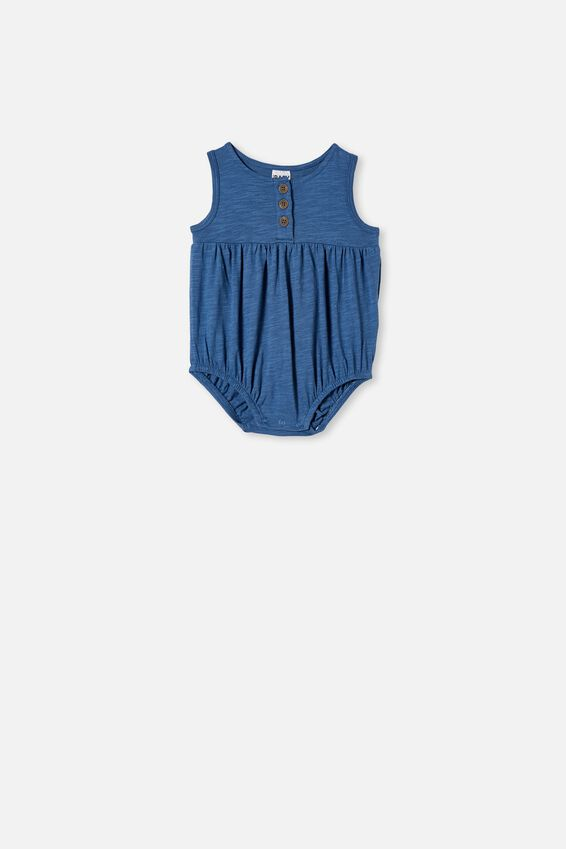 Craigelina Singlet Bubbysuit, PETTY BLUE