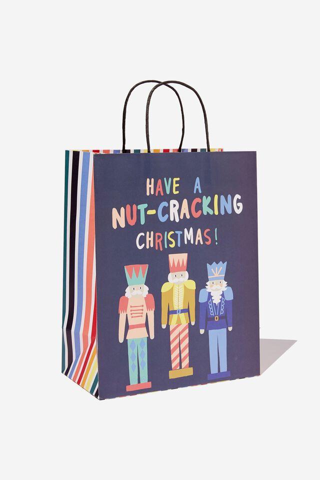 Christmas Gift Bag - Medium, NUTCRACKER CHRISTMAS