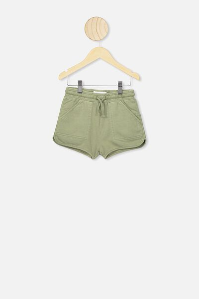 Nina Knit Short, GUM LEAF GREEN