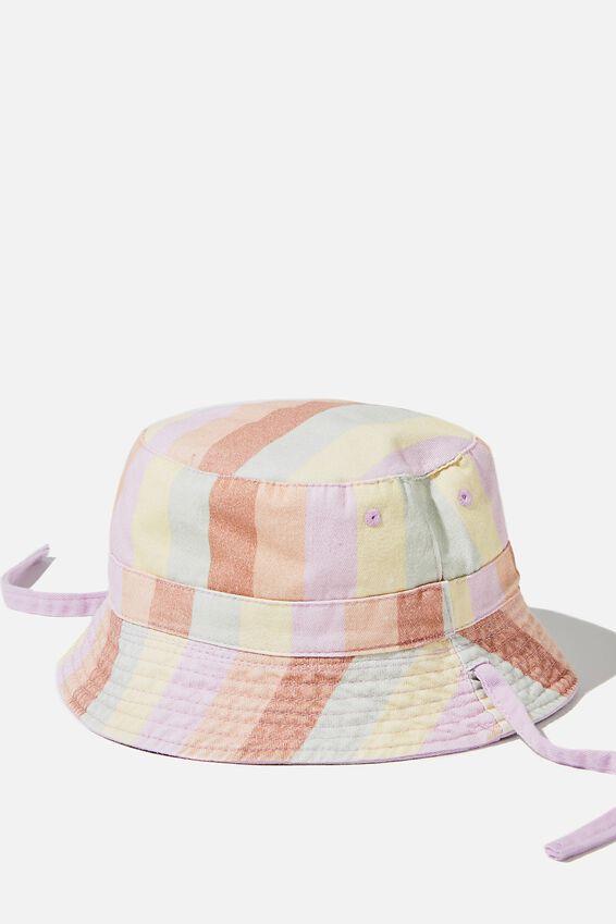 Reversible Bucket Hat, PALE VIOLET