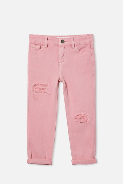 India Slouch Jean, MARSHMALLOW
