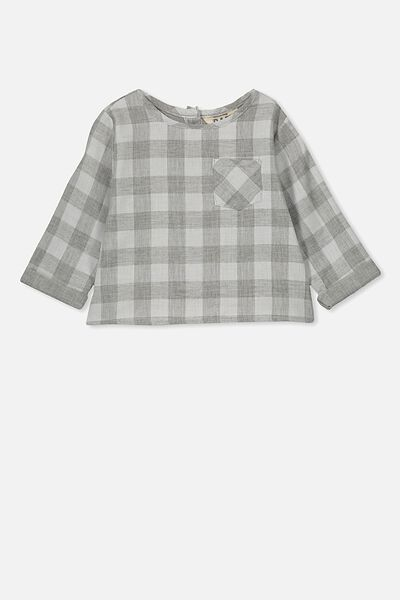 ded8bd9ac260b Tate Long Sleeve Shirt, STORMY SEA/REMY GINGHAM