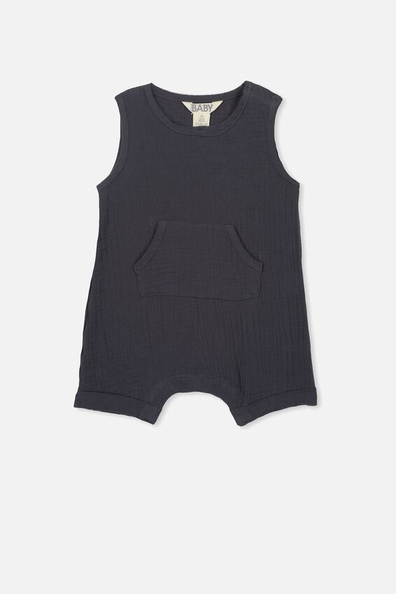 Nate Romper, GRAPHITE GREY