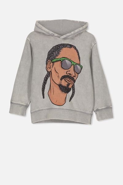 License Hoodie, LCN MT SNOOP/WINTER GREY SW
