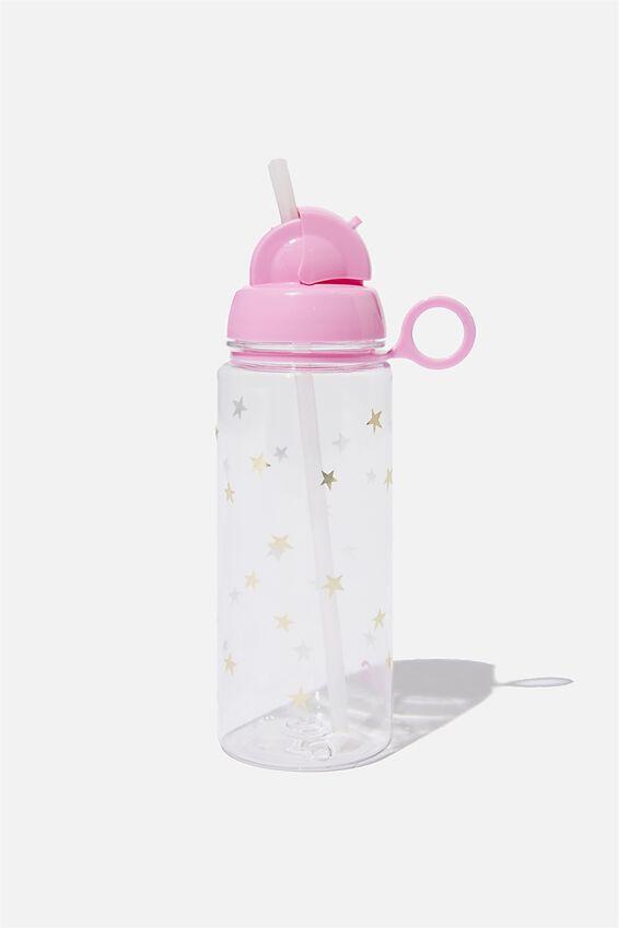 Spring Drink Bottle, FOIL STARS
