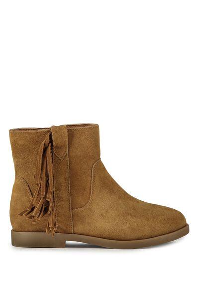 Arizona Leather Boot, TAN