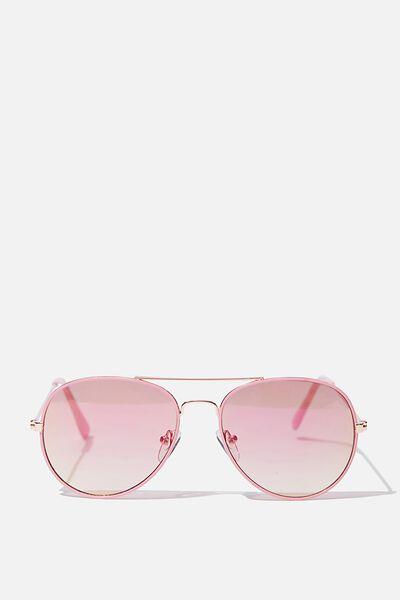 Pilot Sunglasses, ALL PINK