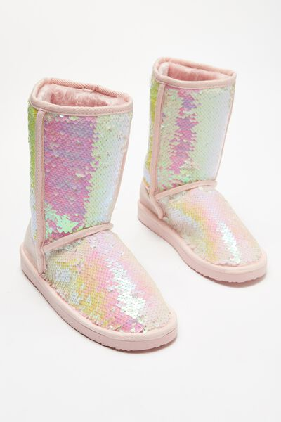 Free Sleepy Homeboot, IRIDESCENT SEQUINS