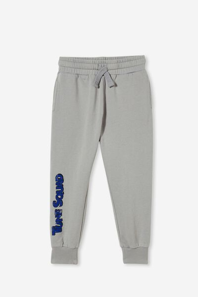 License Slouch Trackpant, LCN WB CUMULUS GREY /LEBRON TUNE SQUAD