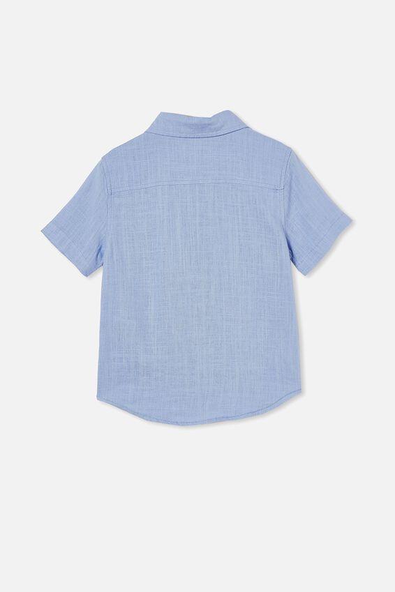 Resort Short Sleeve Shirt, DUSK BLUE
