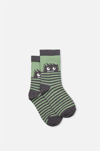 Fashion Kooky Socks, MONSTER